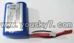 FX052-parts-07 7.4vLi-ion batteries with Red Jst plug