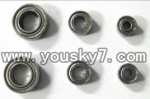 FX052-parts-12 Bearings(6pcs)