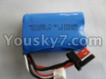 FX052-parts-17 Upgrade 7.4v 1100mah 15c Battey