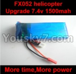 FX052-parts-18 Upgrade 7.4v 1500mah 20c Battey