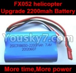 FX052-parts-19 Upgrade 7.4v 2200mah 15c Battey
