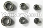 FX052-parts-30 Bearings(Total 6pcs)