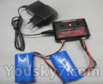 Feilun toys FX067 FX067C parts-19 New version charger,Can charger two battery at the same time