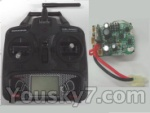Feilun toys FX067 FX067C parts-31 Transmitter & Circuit board