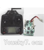 Feilun FX076 Parts-21 Transmitter & Receiver board,Circuit board