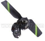 FX078-parts-10 Chopper Tail unit(Include Tail motor & Tail blade & Tail cover with gear)