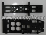 FX078-parts-28 Upper Main frame & Lower main frame