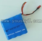 QS8008-helicopter-06-parts Battery 14.8V 3000MAH