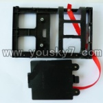 QS8008-helicopter-07-parts Battery slot and Cover for battery