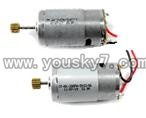QS8008-helicopter-16-parts Main motor with long shaft and gear & Main motor with short shaft and gear