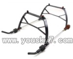 QS8008-helicopter-33-parts Landing skid