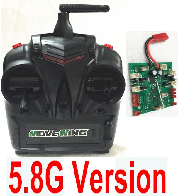 HJ HuaJun Toys W606-3 Parts-48 Transmitter & Circuit board(Can only be used for 5.8G Version)