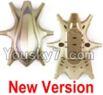 HuaJun Toys W609-7 W609-8 Parts-01-02 Upper and Bottom shell cover-Golden