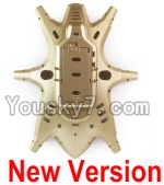 HuaJun Toys W609-7 W609-8 Parts-03-03 Bottom shell cover-Golden