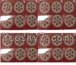 HuaJun Toys W609-7 W609-8 Parts-10-02 Main gear(24pcs)