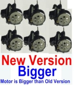HuaJun Toys W609-7 W609-8 Parts-13-02 Whole motor unit(New verision)-6 set