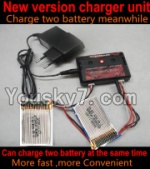 HuaJun Toys W609-7 W609-8 Parts-19-04 Upgrade charger and Balance charger-Can charge two battery at the same time(Not include the 2X battery)