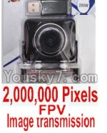 HuaJun Toys W609-7 W609-8 Parts-25 FPV Image transmission HD 2,000,000 pixels Camera unit (Include camera,USB,Memory card)