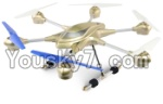 HuaJun Toys W609-7 W609-8 Parts-34 BNF-Golden