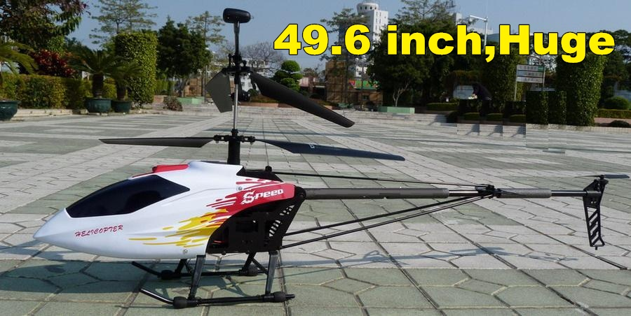 49.6INCH RC HELICOPTER