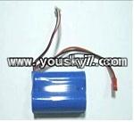 JTS-827-parts-14 battery 3.7v 1500ma