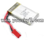 JXD-333-helicopter-parts-15 Battery with red plug