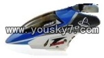 JXD-330-helicopter-Parts-01 Head cover(Blue)