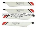 JXD-330-helicopter-Parts-03 Main rotor blades(4pcs-2A&2B)