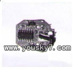 JXD-348-helicopter-parts-18 Circuit board,Receiver board