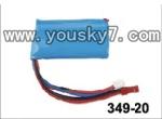 JXD-349-parts-20 batterys 7.4v li-ion