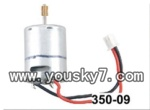 JXD-350-parts-09 Main motor B(Right)