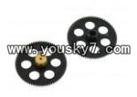 JXD-355-helicopter-parts-17 Gear Set(Upper and lower)