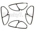 Lead Honor LH-X10 Parts-18 Outer protect frame(4pcs)-Black