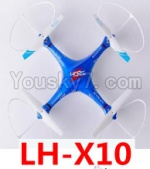 Lead Honor LH-X10 Parts-51 BNF for LH-X10 Quadcopter-(Blue)
