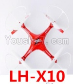 Lead Honor LH-X10 Parts-52 BNF for LH-X10 Quadcopter-(Red)