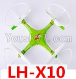 Lead Honor LH-X10 Parts-53 BNF for LH-X10 Quadcopter-(Green)