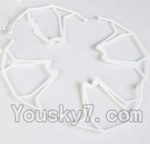 LH-X14 X14C X14DV X14WF Parts-11 Outer protect frame(4pcs)-White