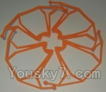 LH-X14 X14C X14DV X14WF Parts-12 Outer protect frame(4pcs)-Orange
