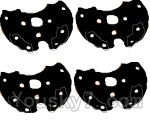 LH-X14 X14C X14DV X14WF Parts-31 Bottom pieces cover for the Motor cover(4pcs)-Black