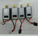 LH-X14 X14C X14DV X14WF Parts-32 Main motor with White color plug(2pcs) & Main motor with Black color plug(2pcs)