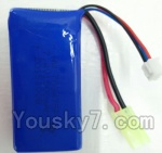LH-X14 X14C X14DV X14WF Parts-36 Official 7.4v 1500mah Battery with EL plug(1pcs)