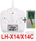 LH-X14 X14C X14DV X14WF Parts-41 Transmitter and Circuit baord(Can only be used for LH-X14 or LH-X14C Quadcopter)