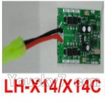 LH-X14 X14C X14DV X14WF Parts-47 Circuit board,Receiver board (Can only be used for LH-X14 or LH-X14C Quadcopter)