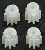 LH-X15 X15C X15WF Spare Parts-10 Small gear for the Main motor(4pcs)-9 Teeth