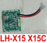 LH-X15 X15C X15WF Spare Parts-36 Circuit board,Receiver board(Can only be used for LH-X15 X15C)