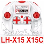 LH-X15 X15C X15WF Spare Parts-40 Transmitter,Remote Control(Can only be used for LH-X15 X15C Quadcopter)