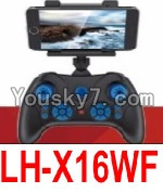 LH-X16 X16C X16WF X16DV Spare Parts-46 Transmitter,Remote Control(Can only be used for LH-X16WF Quadcopter)