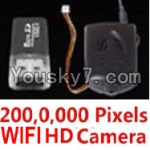LH-X16 X16C X16WF X16DV Spare Parts-50 HD Wifi-Function Camera unit(Include the 200,0,000 Pixels camera,Memory card,USB Reader)