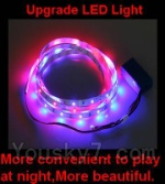 Lead honor LH-X3 LH-X3C Parts-23 Upgrade LED light for the Quadcopter