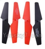 LH-X6 X6C Parts -04 Main rotor blades,Propellers(4pcs)